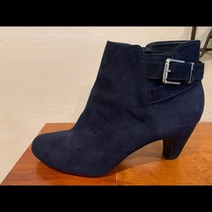Sam & Libby Blue ankle boots Size:9